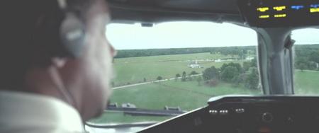 flight una scena del film